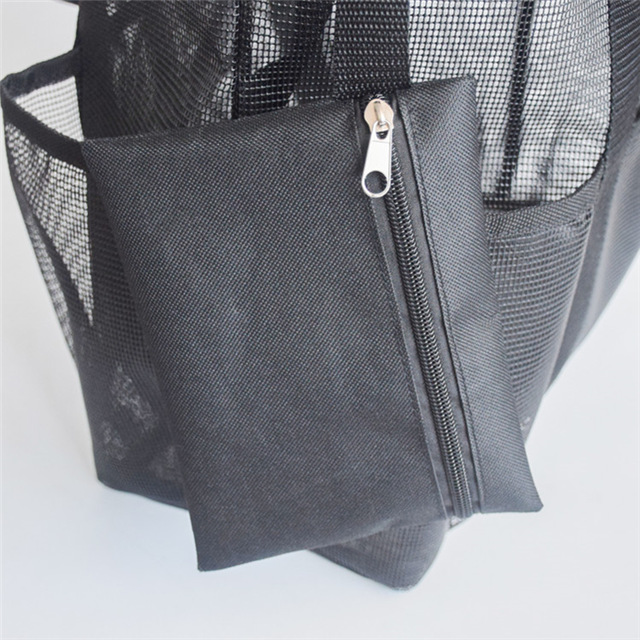 Mesh Tote Bag with Shoulder Handle And Pockets