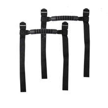 2 x Roll Car Grab Handles for 1955-2018 Jeep Wrangler YJ TJ JK JL (Black)