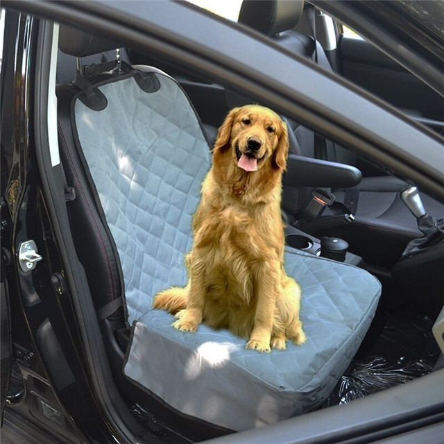 Car Front Seat Cover Dog Seat Protector for Cars, SUVs Durable Polyester