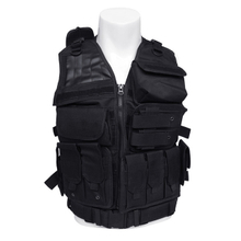 Tactical Molle Combat Vest Airsoft Camouflage Police Fully Adjustable