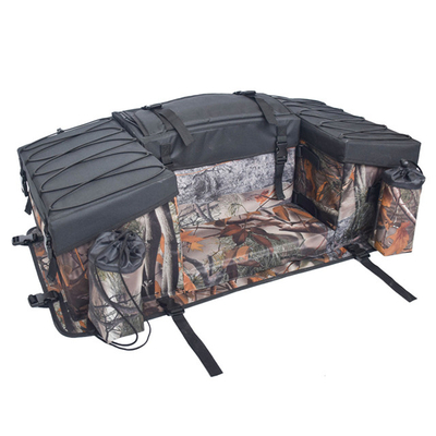 ATV Rear Seat Rack Cargo Luggage With Soft Backrest