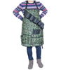 Heavy Duty Waterproof Camo Oxford BBQ Garden Apron with Tool Pockets