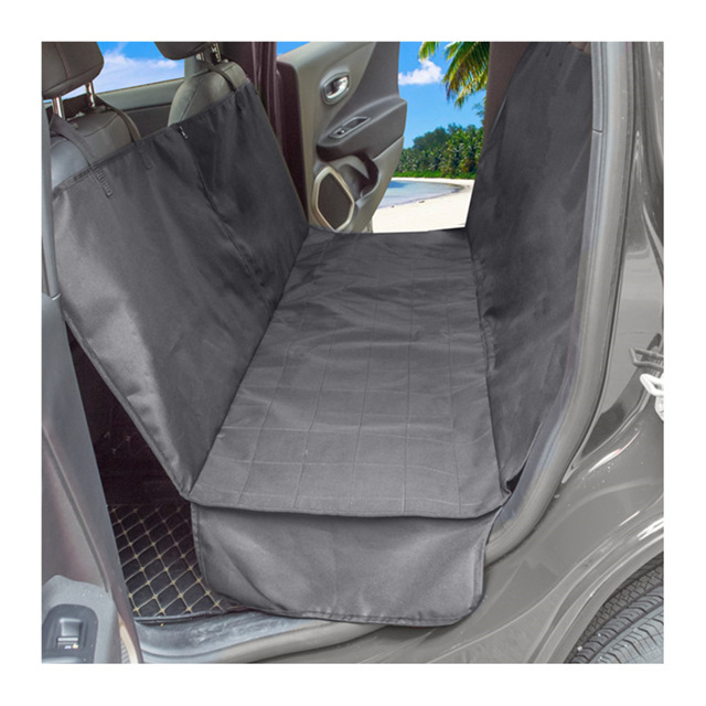 Non Slip Durable Soft Pet Back Seat Covers