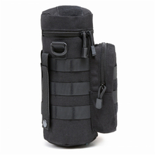 Tactical Military Molle Black Color Water Bottle Pouch
