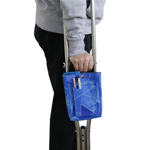 Waterproof Colorful Lightweight Crutch Pouch Storage Bag for Leg Broken Crutches