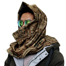 Breathable Military Camouflage Desert Hunting Blind Scarf for Fishing, Wargame, Sports and Outdoor Activities