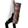 Heavy Duty Adjustable Canvas Full-Zip Exercise Gym Yoga Mat Sling Carry Bag with Multi-Functional Storage Pocket
