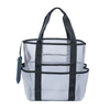 Wholesale Large Lightweight Foldable Market Grocery Picnic Mesh Beach Tote Bag with Oversized Pockets