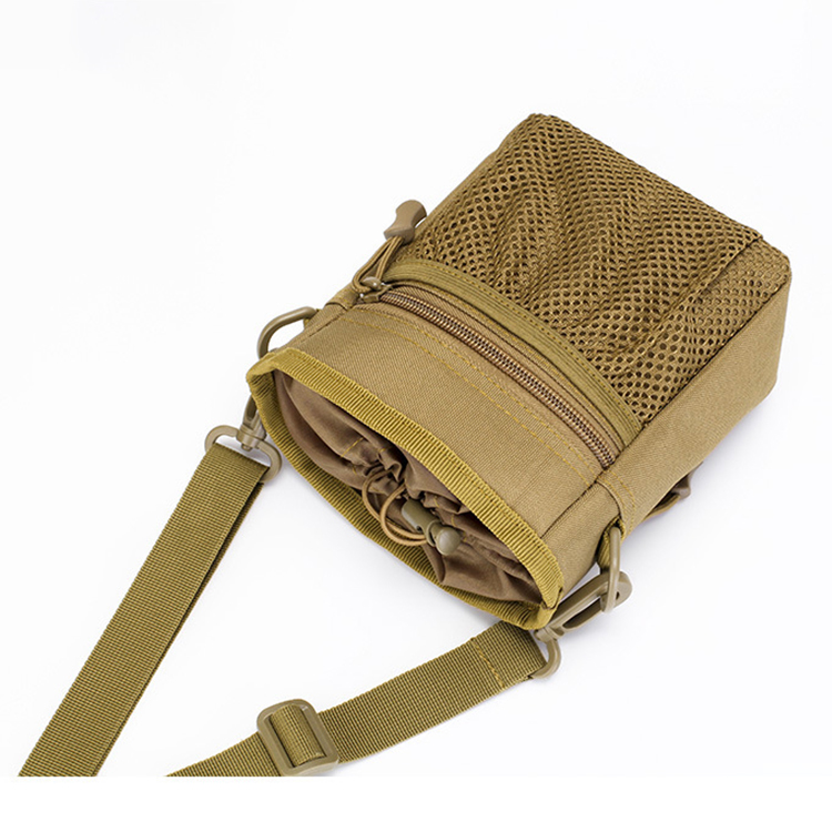 Adjustable Mini Portable Tactical Waist Bag With Single Sling
