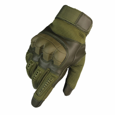 Full Finger Touch Screen Tactical Army Military Outdoor Gloves With Protective Softshell Rubber Knukcle And Fingers Backside