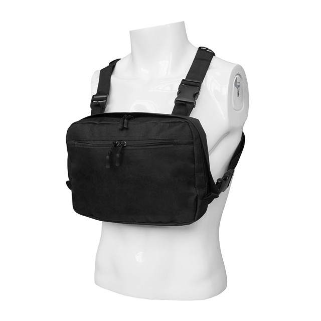 Tactical Chest Rig Bag Vest with Front Pouch