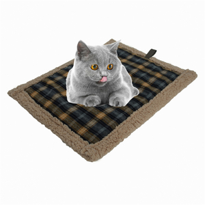 Durable Waterproof Self-Warming Quilted Pet Mat for cats and puppy