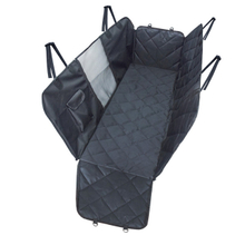 Waterproof Hammock Pet Dog Car Seat Cover with Mesh Window and Pocket