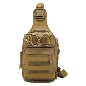 Waterproof Outdoor Durable Military Tactical Shoulder Bag with Sling and MOLLE