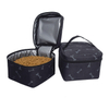 Pet Travel Bag for Dog&Cat -Weekend Tote Organizer Bag with 2 Dog Food Carriers Bag